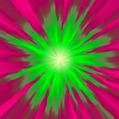 pic of amoeba  - Crazy abstract melted green and pink burst as wallpaper - JPG