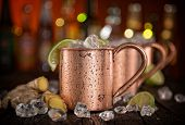 pic of vodka  - Cold Moscow Mules  - JPG