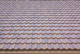 foto of gable-roof  - Photos tile roof smooth and seamless - JPG
