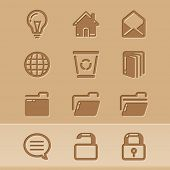 vector blog icons set4