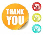 pic of thank you  - vector  - JPG