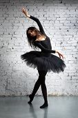 stock photo of ballet dancer  - cute - JPG
