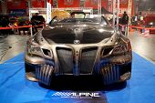HELSINKI, FINLAND - OCTOBER 3: X-Treme Car Show, showing BMW Sinister 6 concept on October 3, 2009 i