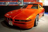 HELSINKI, FINLAND - OCTOBER 3: X-Treme Car Show, showing tuned 1991 BMW 850 CSI on October 3, 2009 i