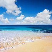 Beautiful English Beach on Ascension Island