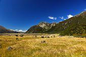 New Zealand's Hooker Valley