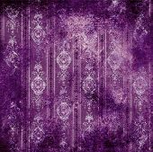 old grungy violet vintage wallpaper background