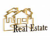 Logotipo da imobiliária 3Dimensional