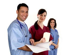 pic of medical assistant  - Diverse medical team - JPG