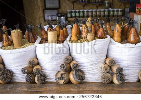 All Kinds Of Spices On