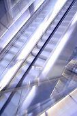 escalators in action