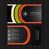 Business Card. Vector