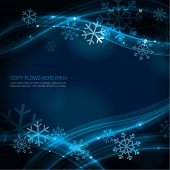 Contemporary Christmas background