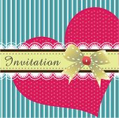 stock photo of greeting card design  - Invitation card design 02 - JPG