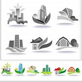pic of villa  - Eco Friendly Urban Architecture Symbols  - JPG