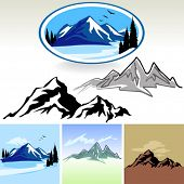 Amazing Mountain And Hills SYMBOLS
