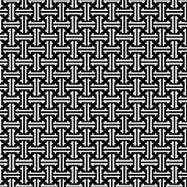 chinese vector pattern in b/w.