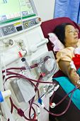 To Purify The Blood With Artificial Kidney