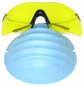 Hazardous Materials Goggles And Mask