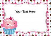 Cute Cupcake Invitation