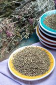 Herbes De Provence, Mixture Of Dried Herbs Considered Typical Of The Provence Region, Blends Often C poster