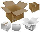Five boxes.