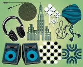 Urban music elements