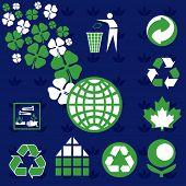 Various design elements: Ecology