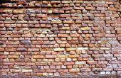 Parede de tijolos antigos