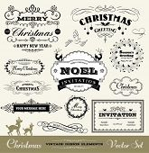 Christmas decorative set