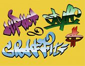 Design Graffiti Wörter