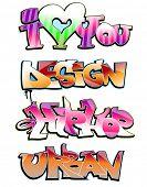 Graffiti hip hop urban design