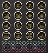 Money and Banking buttons