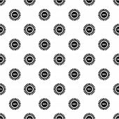 Loading Circle, 100 Percent Pattern. Simple Illustration Of Loading Circle, 100 Percent Pattern For  poster