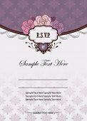 Invitation card template