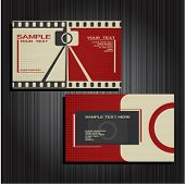 Business card set 21
