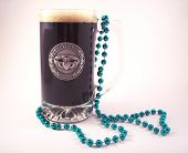 pic of claddagh  - A festive pint of a dark irish stout - JPG