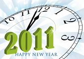 Vector happy new year