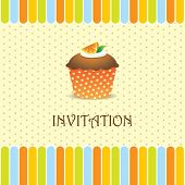 cupcake invitation background 04