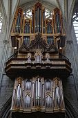picture of pipe organ  - Pipe organ in Interior of St - JPG
