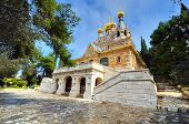 stock photo of magdalene  - The Church of Mary Magdalene in Jerusalem - JPG
