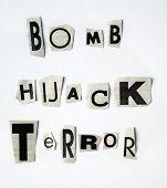 Hijack-terror Concept