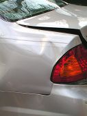 Vehicle Damage From Accident