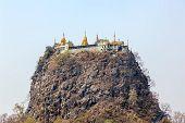 Mount Popa Taungkalat monastery