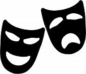 Tragedy And Comedy Theatre Masks