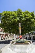 Bienne - Fountain In The Square