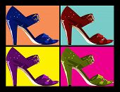 Pop Art Shoes