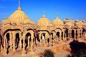 India, Rajasthan, Jaisalmer: Cenotaphs