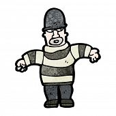 cartoon burglar