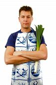 Cook With Leek poster